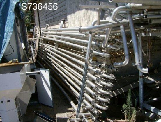 Heat Exchanger, Tube-in-tube, 300 SF,