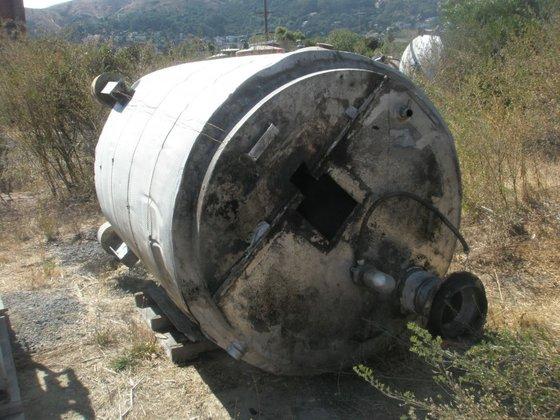 Tank, 600 Gallon, S/st, Jkt,