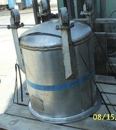"Tank, 45 Gallon, S/st, 23"""