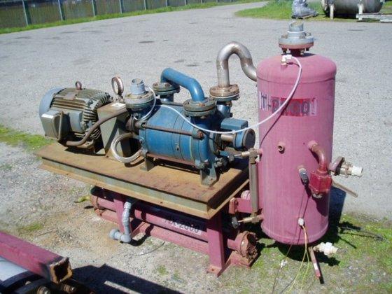 LPHR 55316-ABAAA0B0 Pump, Vacuum, SIHI,