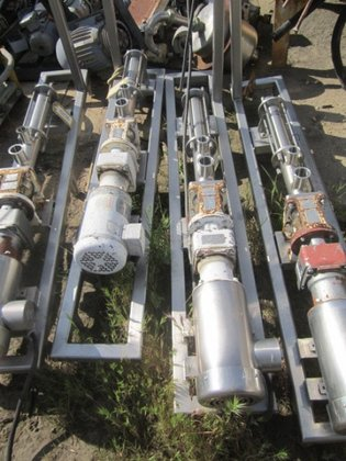(2) Pump, Moyno, 2 HP,