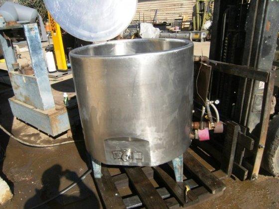 Kettle, 95 Gallon, 304 S/st,