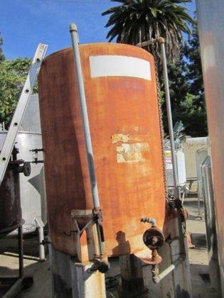 Tank, 500 Gallon, C/st, 4'