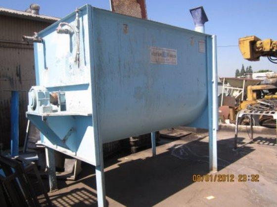 HPC-5496 Mixer, Paddle, 133 CF,