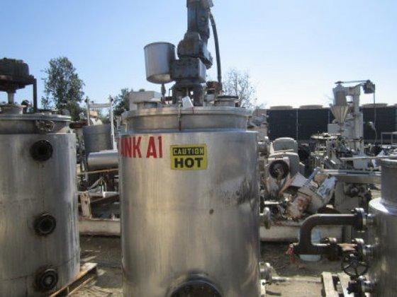 Reactor, 250 Gallon, 304 S/st,