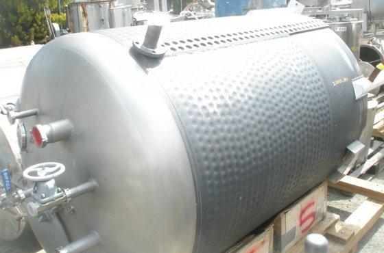 Mueller Tank, 750 Gallon, 316