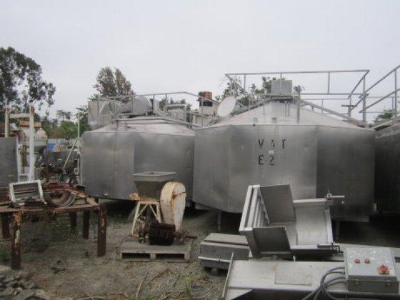Tank, 4, 000 Gallon, S/st,