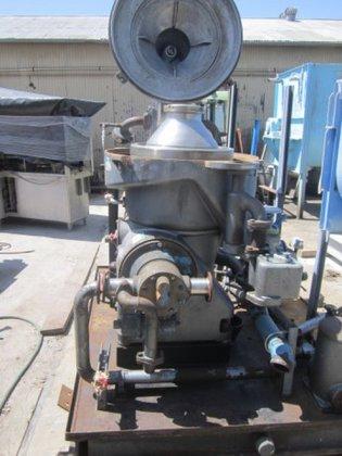 Westfalia OSA35 Centrifuge, Disc, Auto
