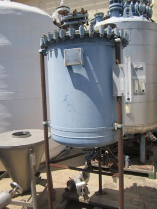 Pfaudler Reactor, 90 Gallon, G/L,