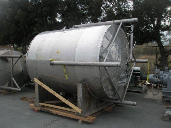 Tank, 2, 500 Gallon, S/st,