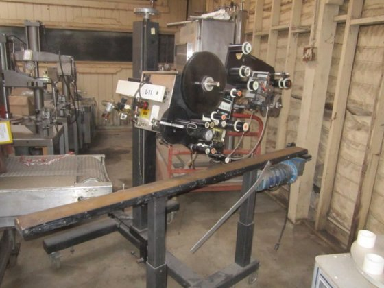 "5"" Labeler, Pressure Sensitive, Label-Aire,"