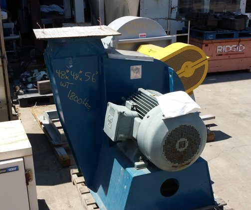 """Blower, 60 HP, 14"""" In/Out,"""