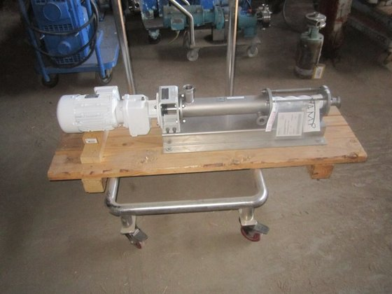 Pump, Moyno, 1.5 hp, S/st,
