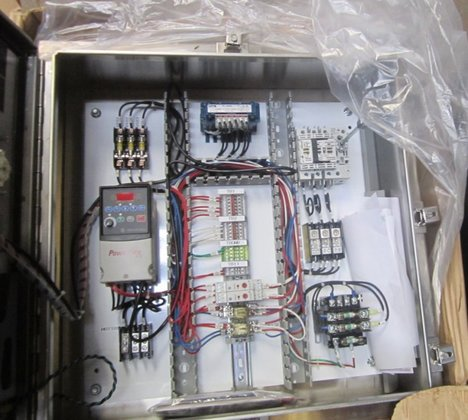 Control Panel, Elec, S/st, 1.5