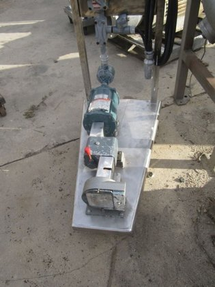 610 with aluminum houseing Pump,