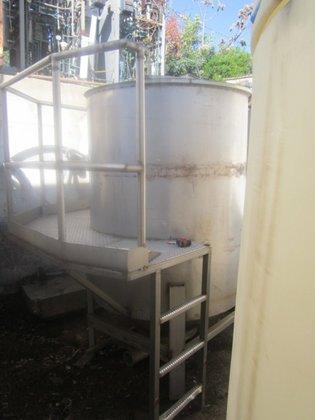 Tank, 430 Gallon, S/st, CB/FT,