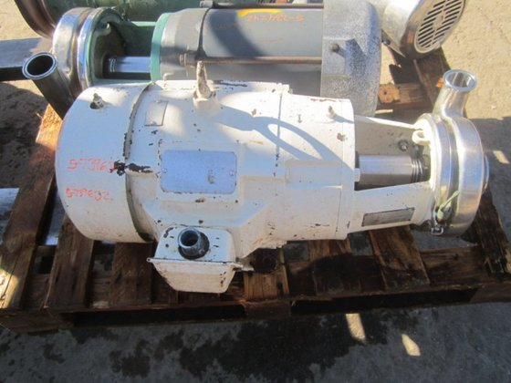 C218MD21T-S Pump, Centrif., 7.5 HP,