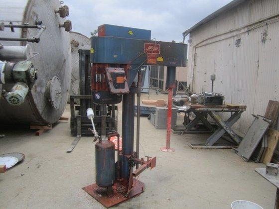 30 HP Mixer, Dispersion, S/st,