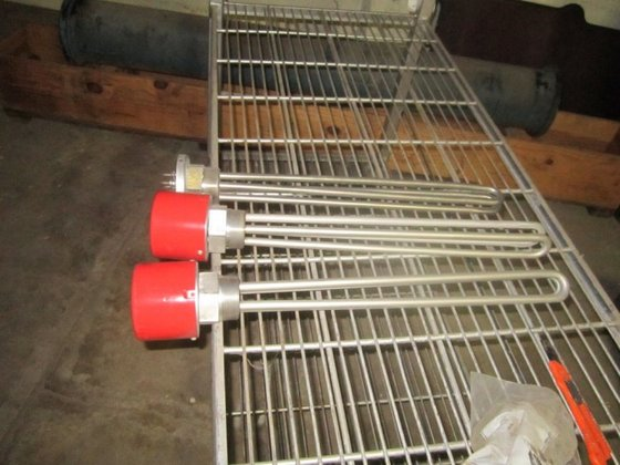 MTS-250A Heater, Immersion, Chromalox, Screw,