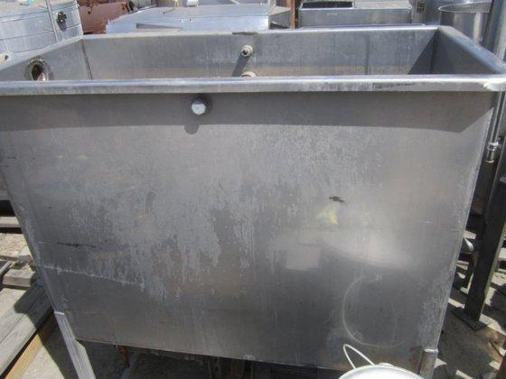 Tank, 352 Gallon, S/st, Rectangular,