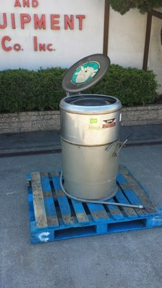 BC-150 Centrifuge, Basket, Perforate, 18""