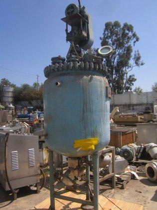 Pfaudler E174-1488 Reactor, 125 Gallon,