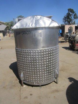 Tank, 528 Gallon, S/st, Triple