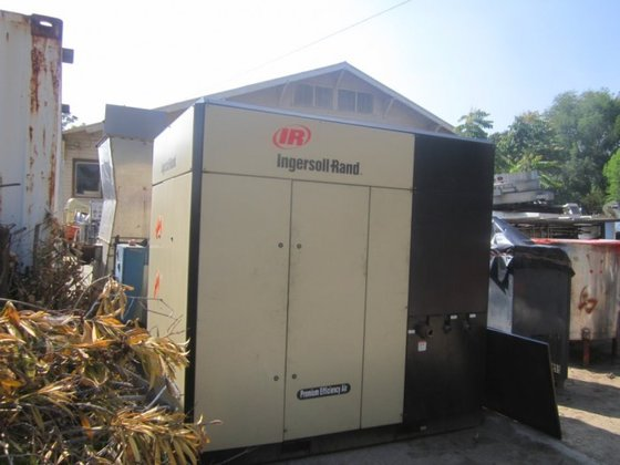 I-R Compressor, Air, 125 HP,