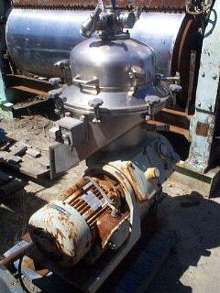 Delaval BRPX-207SGV-39-60/4183-4 Centrifuge, Disc, Auto,