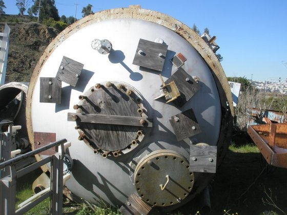 Reactor, 3, 000 Gallon, 316