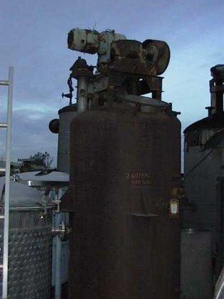 Tank, 600 Gallon, S/st, 3