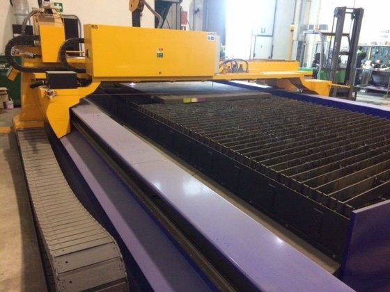 MicroStep MG CNC plasma (Working area 2,500 mm x 6,000 mm) in