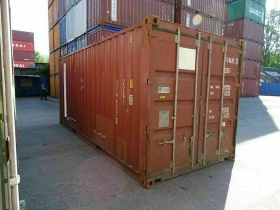 gebraucht 20 fuss container seecontainer mit csc. Black Bedroom Furniture Sets. Home Design Ideas