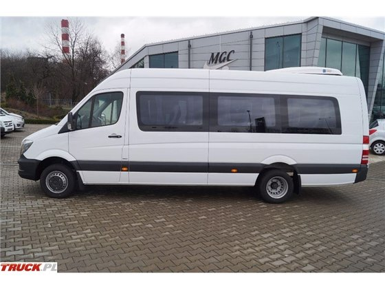 2017 mercedes sprinter 516 autobus in silesian voivodeship for 2017 mercedes benz sprinter towing capacity