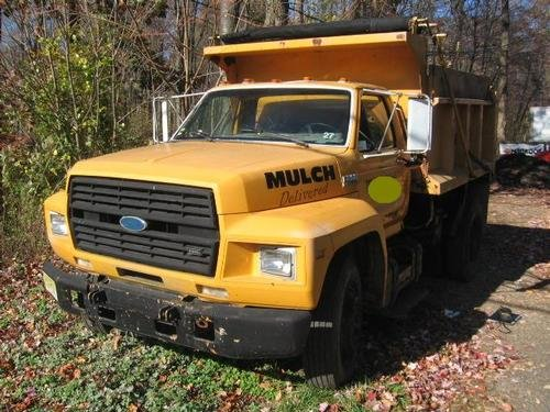 1991 FORD F800 Single Axle