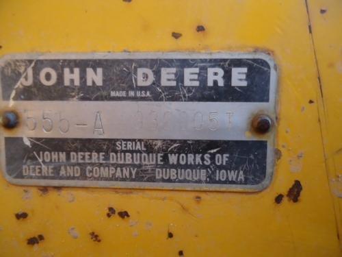 1980 JOHN DEERE 555A in