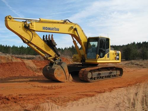 2006 KOMATSU PC220LC-8 Long Carriage