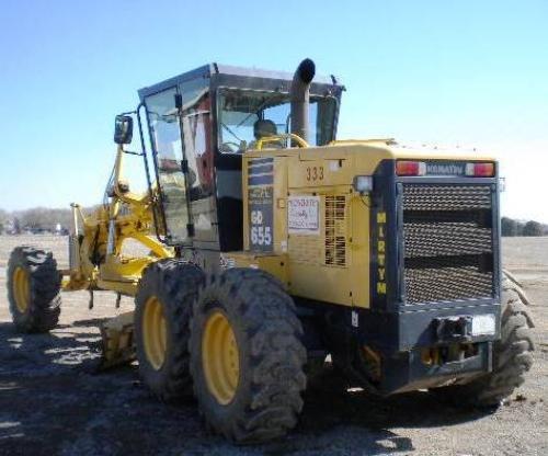2005 KOMATSU GD655-3C in Norfolk,