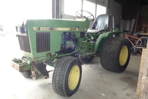 1985 JOHN DEERE 650 in