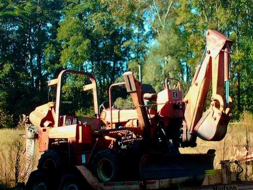 1988 DITCH WITCH 5010DD Trencher