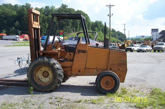 CASE 584-D Forklifts in Middlesboro,