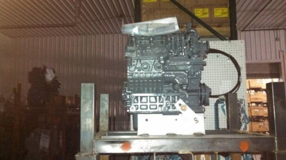 DINGO TX525 Remanufactured Kubota Engine
