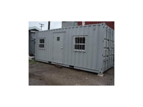 A PLUS 20' OFFICE CONTAINER