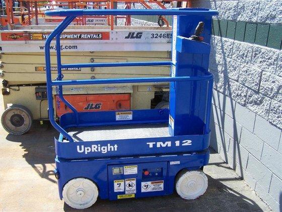 2007 Upright TM12 Work platforms