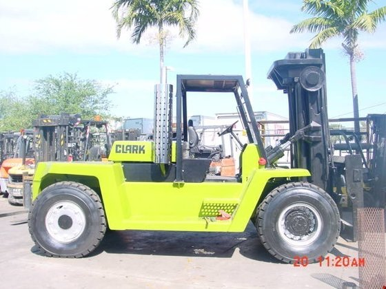 1991 CLARK C500Y300D Forklifts in