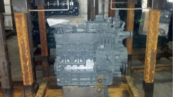 VERMEER Remanufactured Kubota Engine to