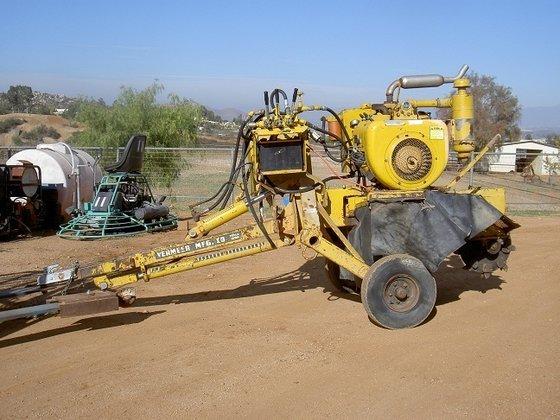 VERMEER 630A Stump cutter in