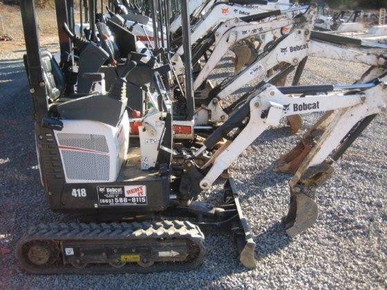 2012 BOBCAT 418 MX Excavators