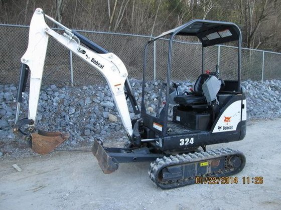 2012 BOBCAT 324 Excavators in