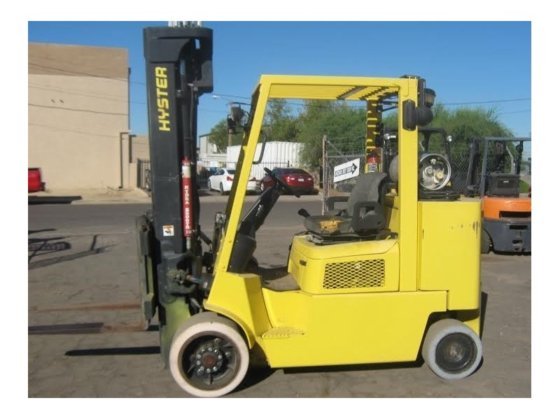 2005 HYSTER S120XM Lifts in